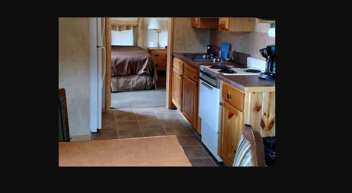 Cabin with Full Kitchen at Four Seasons Lodge