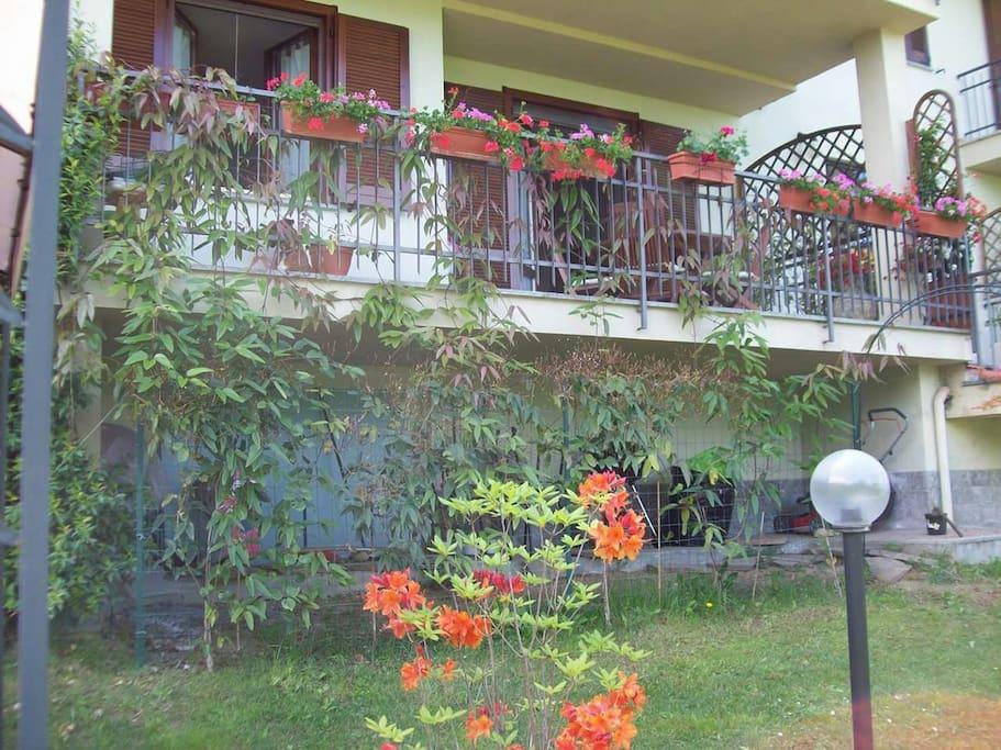 giardino e terrazzo spazio comune