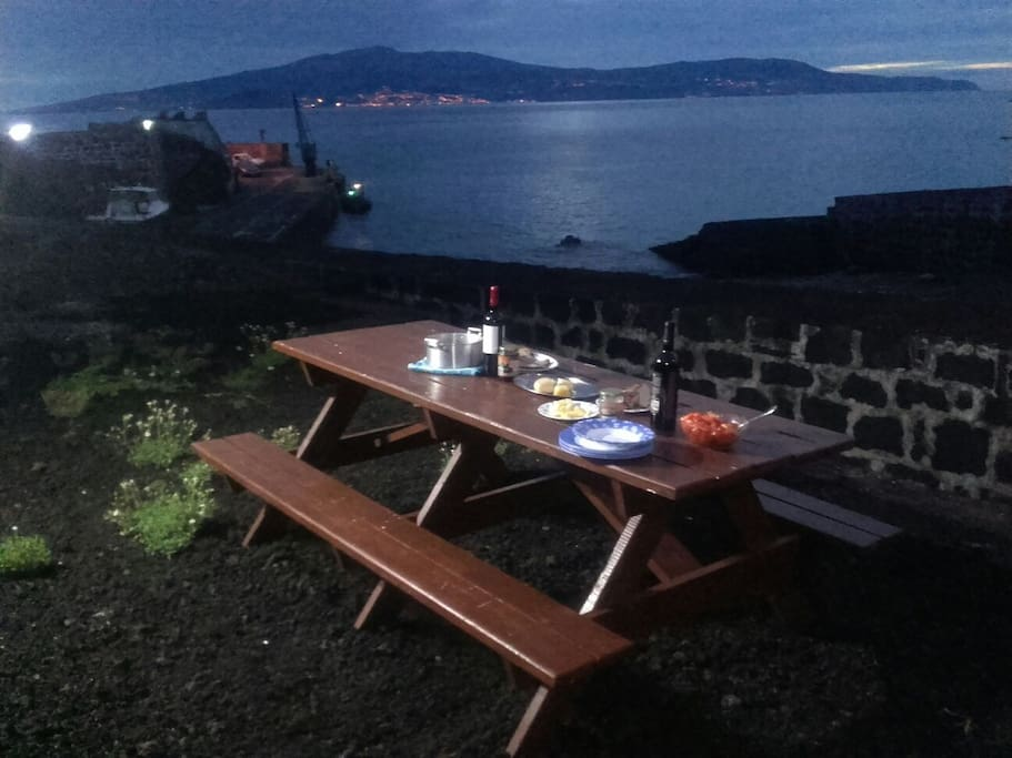 Enjoy your meal and the Amazing view