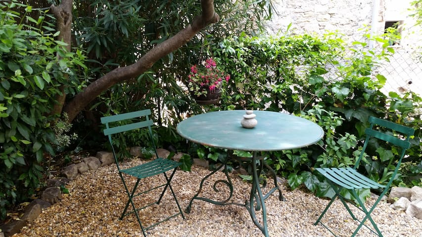 Charming Studio with Beautiful Terrace - Fayence - Таунхаус