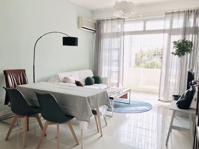 〔VASAI #1BR in 3BR APT〕Shenzhen Window of the Wold
