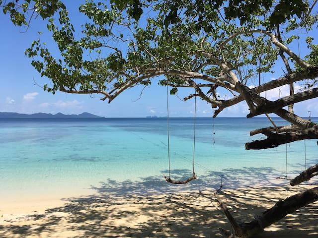 Ao Niang Beach Resort@koh kradan (RoomA2)