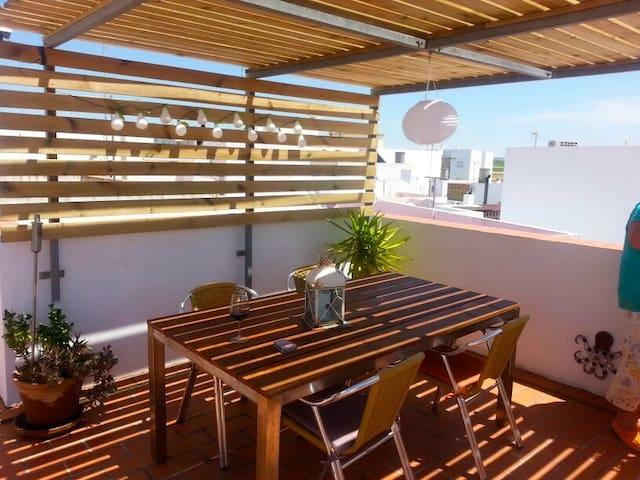 Special   June  2015 Roof terrace - Conil de la Frontera - Apartamento