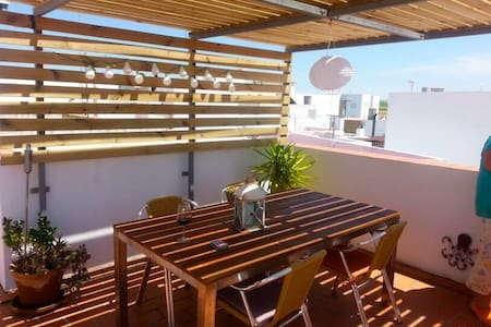 Special   June  2015 Roof terrace - Conil de la Frontera