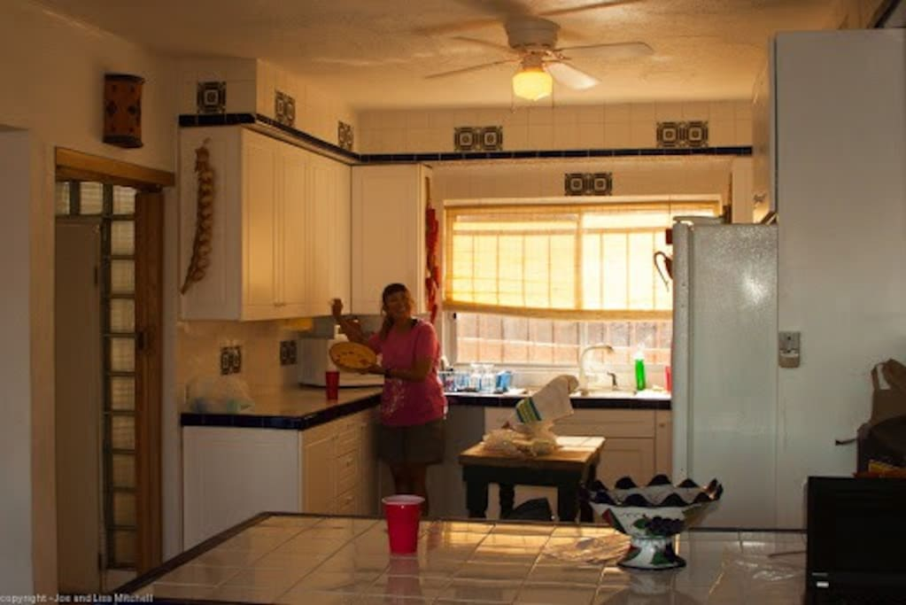 Gourmet kitchen with everything you need to feed the family, Team, or Party
