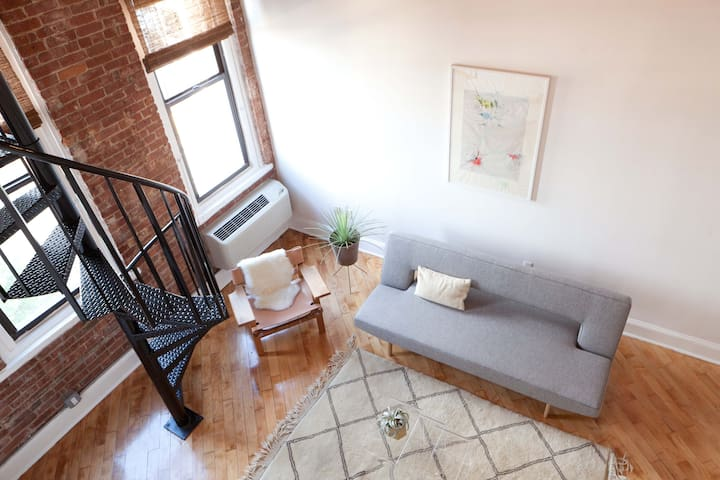 Industrial Flex 2br duplex Loft in Brooklyn