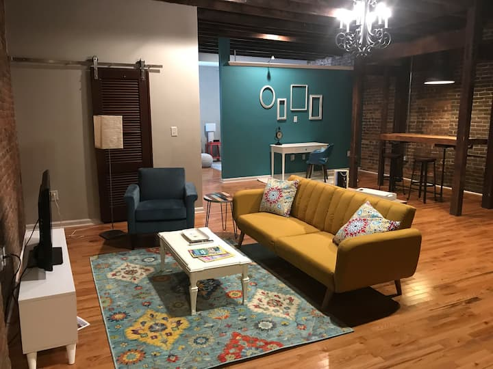 Cozy Loft in downtown Mt. Sterling, KY