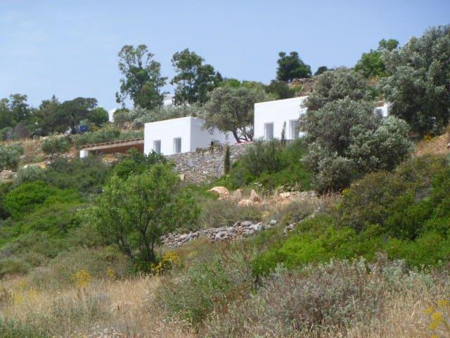 Belle maison contemporaine avec vue - Kamari