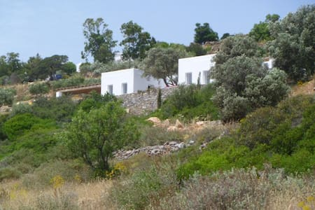 Belle maison contemporaine avec vue - Kamari - Hus