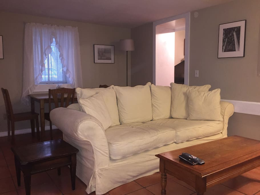14 x17 Living Room with small dining table
