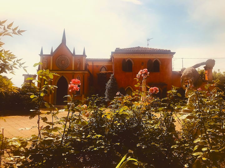 Camera alla Villa Il Giardino Delle Rose
