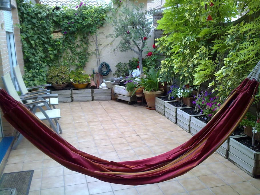 Fantastic Hammock on the terrace - Maisons à louer à ...