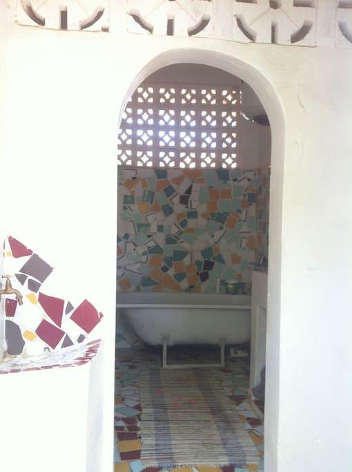 Salle de bain façon hammam