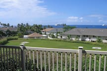 View from our lanai!