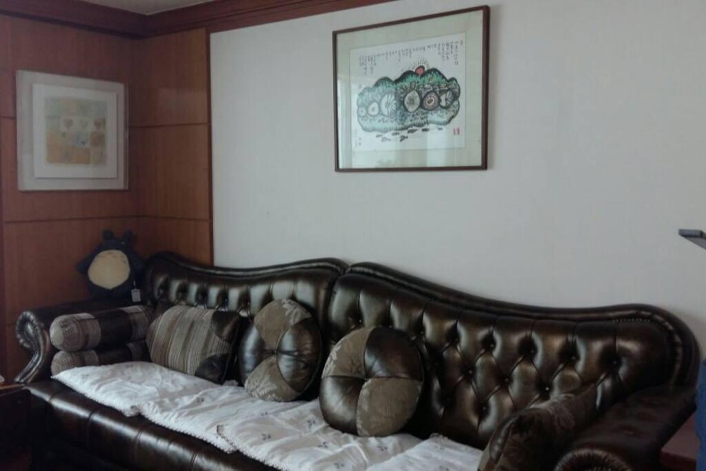 Living room Sweet sofa