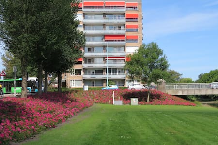 Private apartment with lovely view! - Oegstgeest - Apartemen
