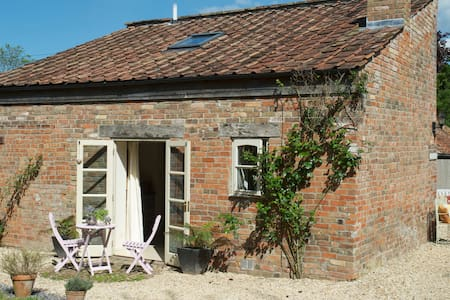 Wilf's Barn a romantic country cottage for two. - Wedmore - 一軒家
