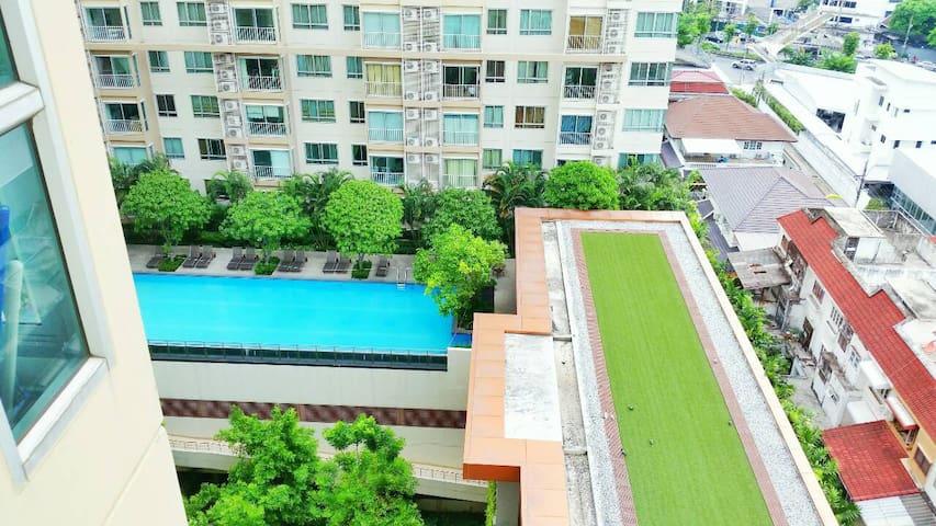 Nice&Clean place near BTS Wongsawang and JJmarket