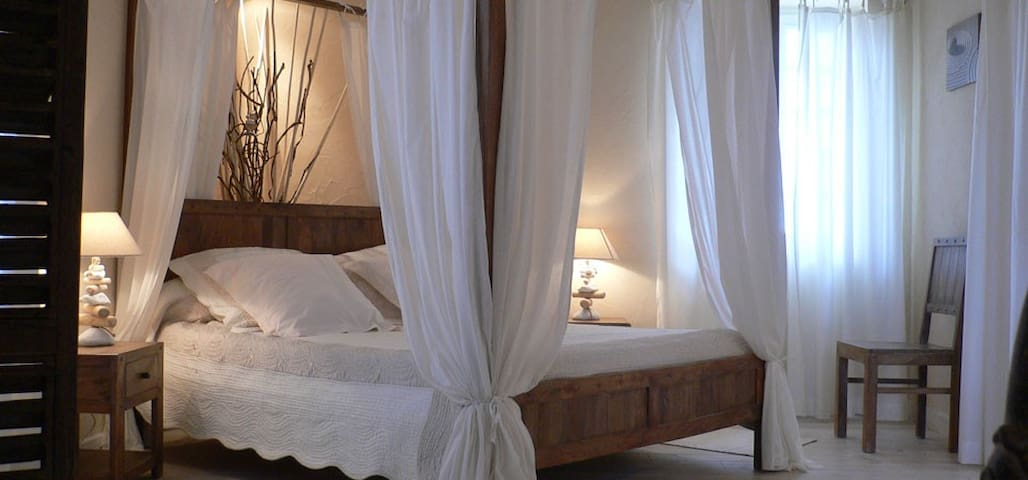 "Suite de charme "" ZENITUDE"" avec vue imprenable - Pailloles - Bed & Breakfast"