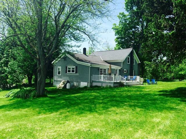 """The """"Dam House"""" - Erieville - Ev"""