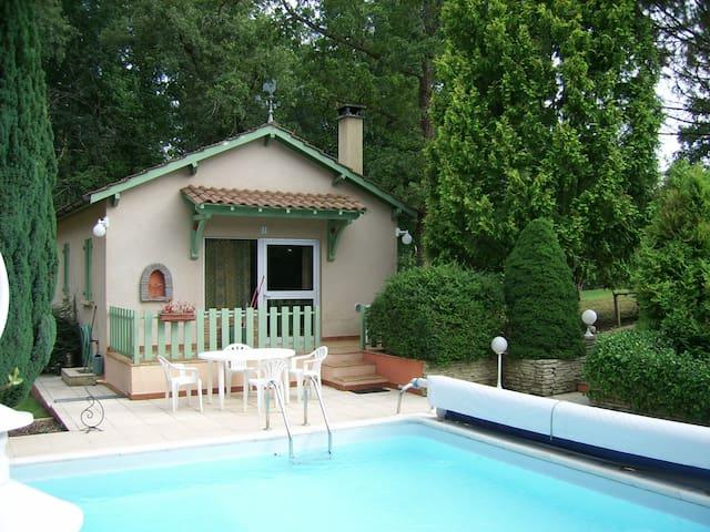 Chalet campagne et forêt - SAINT SAUVEUR DE BERGERAC - Wohnung