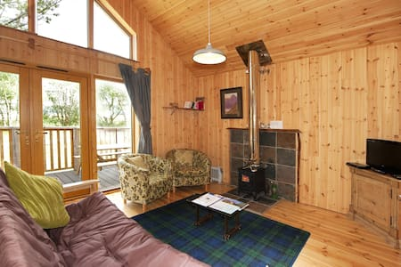 Silver Birch Log Cabin with hot tub - Argyll and Bute - Cottage