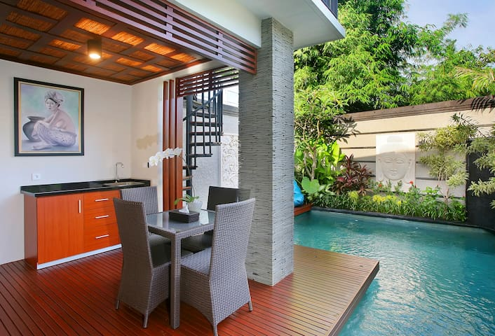 New 2 Bedroom private pool villa