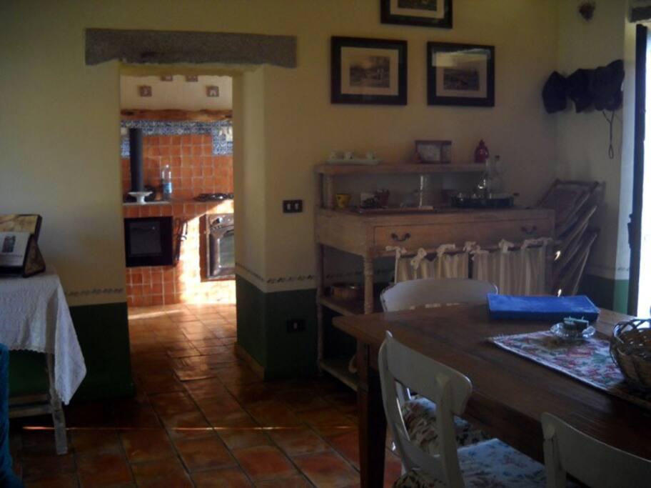 Blick Richtung Küche