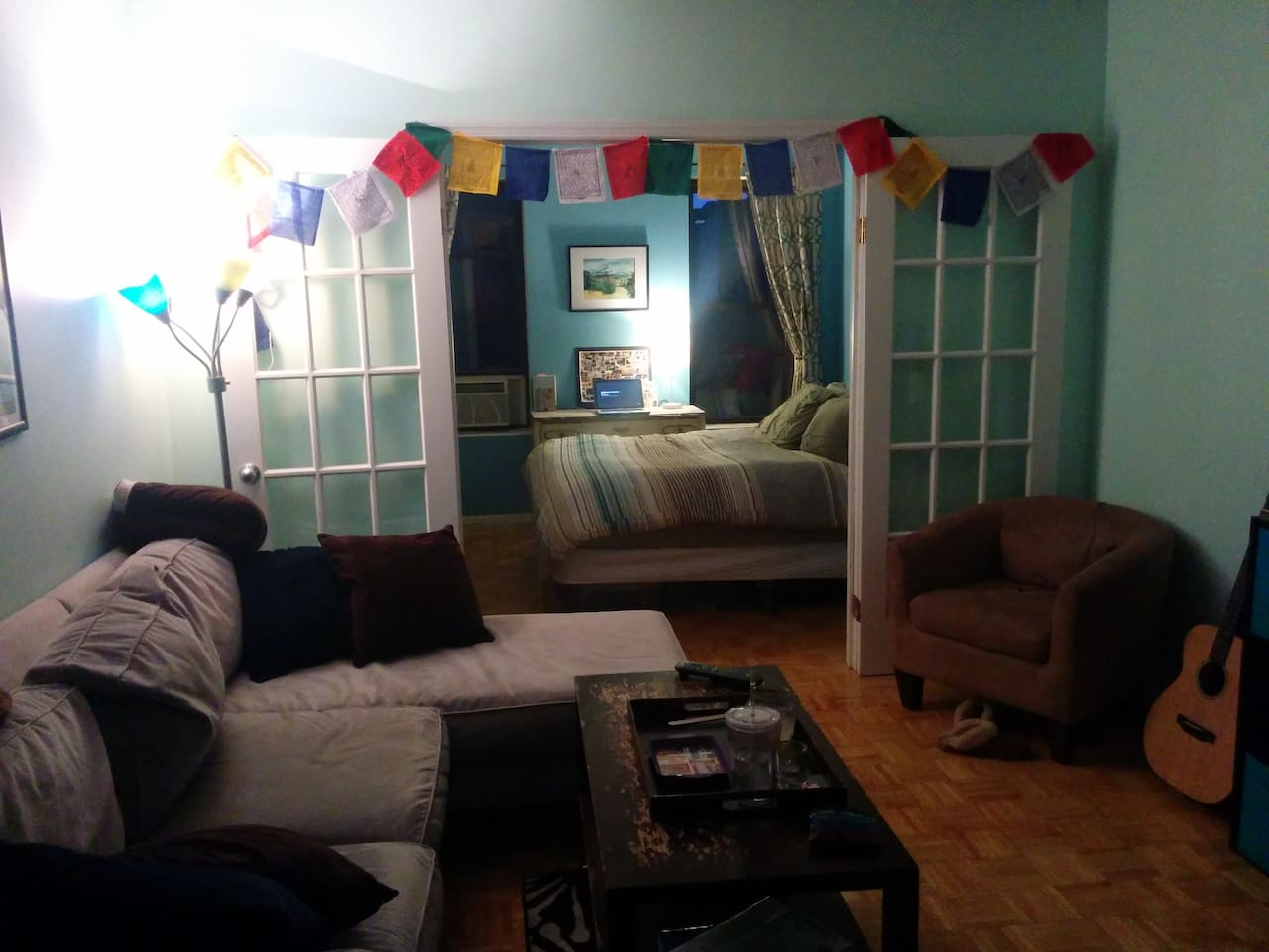 Cozy bedroom :)