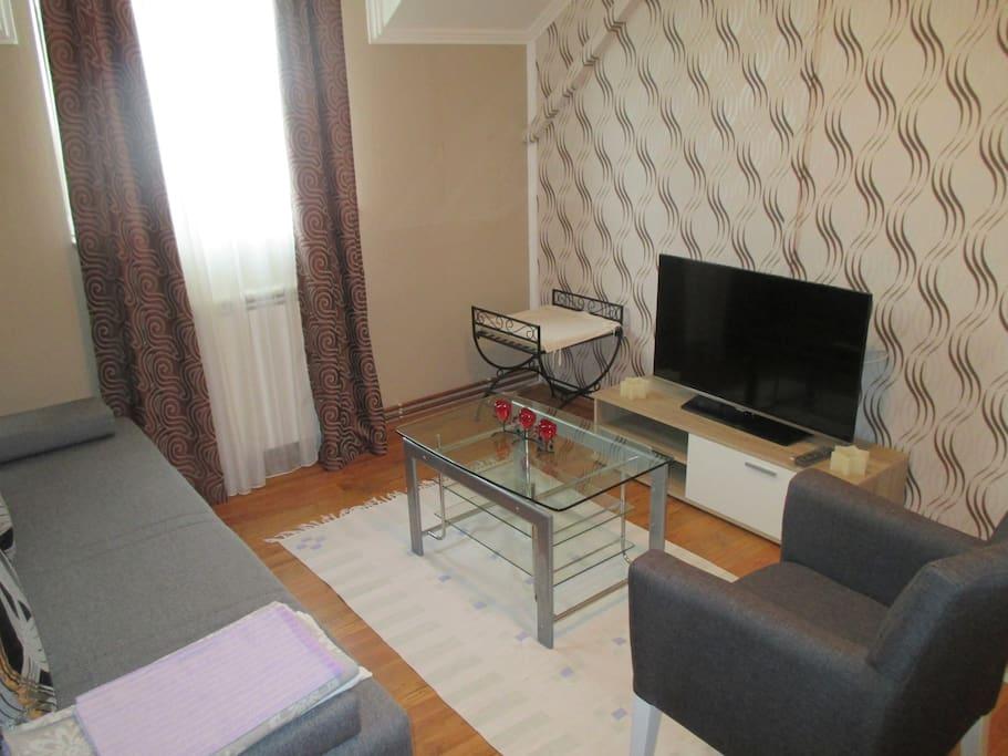 Vila Boska Palic Living Room