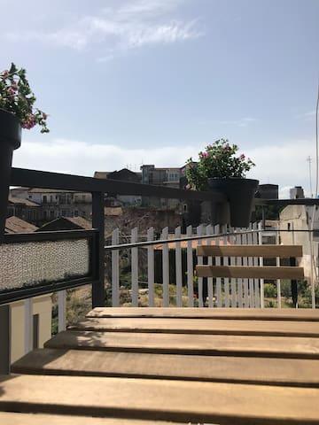 Calliope- camera con bagno privato e balcone