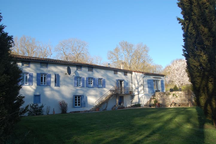 Lovely Old Watermill In a Fabulous Country Setting - Issel - Apartment