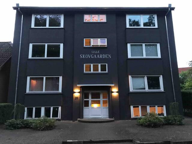 Lejlighed i Randers midtby m/parkudsigt og p-plads