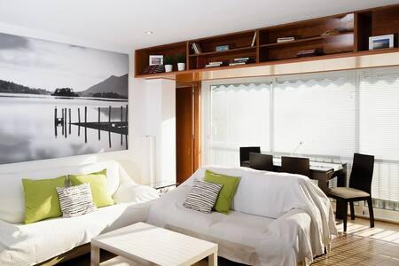 Apartamento 1ª línea playa con wifi