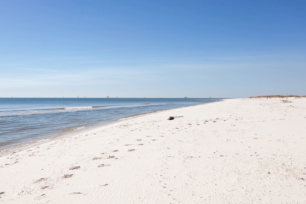 Fort Morgan Beach