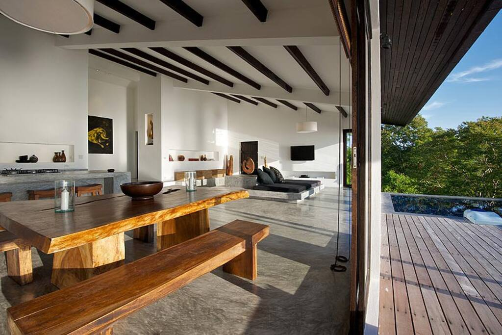 This is another 'EXAMPLE' of the sort of look we are aiming for in the finished house. Modern tropical lux is what we call it. This is VERY similar to the finished look.