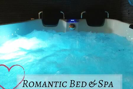 ♥ Loft Romantique ♥ Spa Privatif - Noctambulles