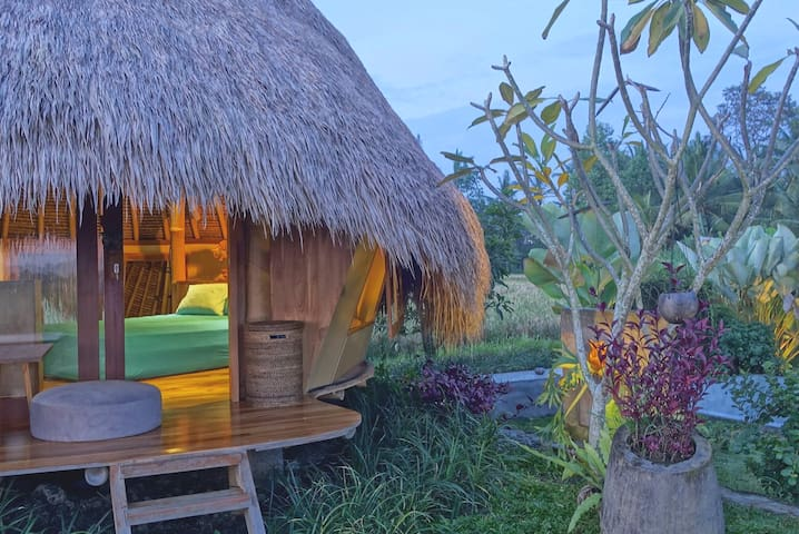 1BR Romantic Nature Hut in Ubud - Great views!