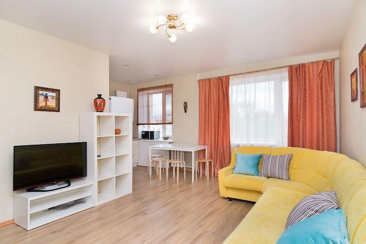 Светлая уютная квартира в центре - Yekaterinburg - Apartemen