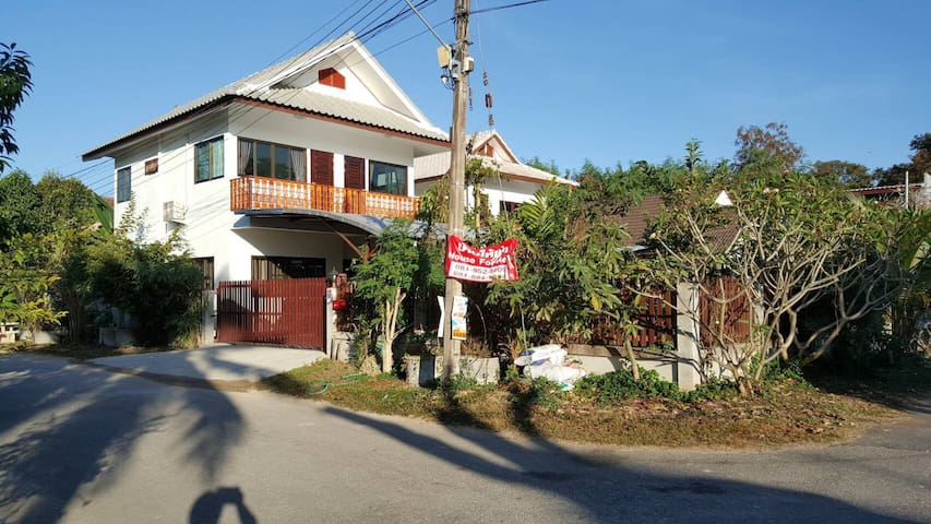 Chiangmai, family house, Lanna Home,舒适的家庭别墅