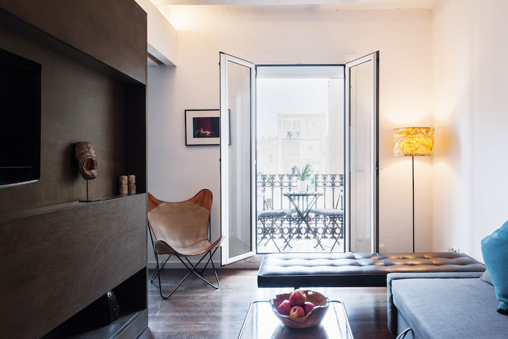 Apartment filled with light