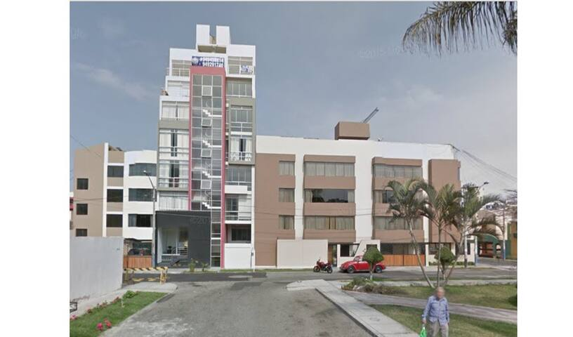 Mini dpto dentro de urbanización - Distrito de Víctor Larco Herrera - Apartment