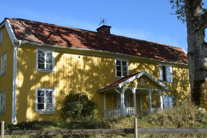 Backa Loge - semesterparadiset vid sjön Fegen