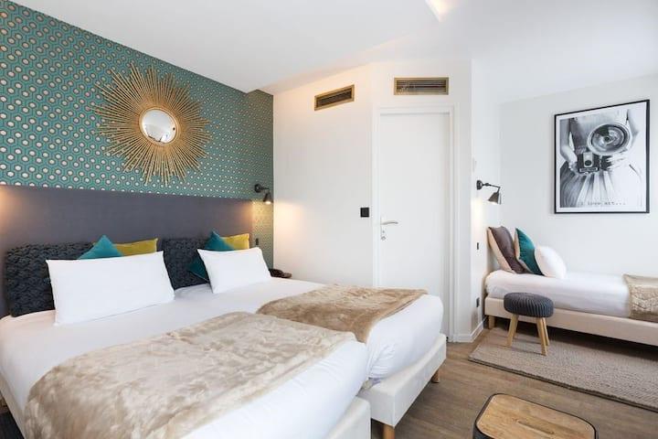 Cozy Chambre Triple