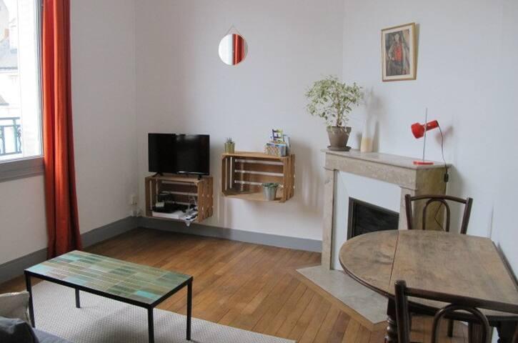 40 m2 cosy dans le quartier historique Colbert