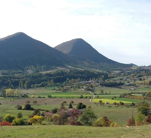 La Vescatine,  en Drôme provençale