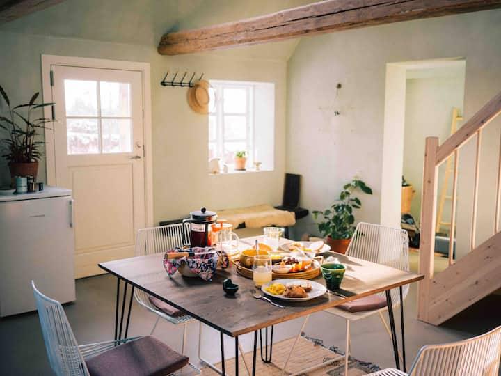 Langsom luksus med morgenmad og social omtanke