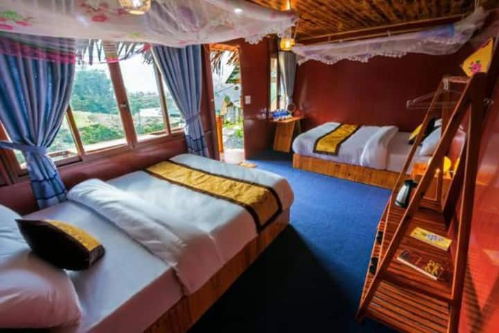 Deluxe Quadruple Room - Sapa Eco Hugo Homestay