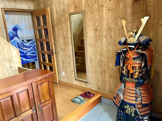 机场直达小樽屋6房任用附近车站免费接送有停车房东常驻6roomRentHouse host stay