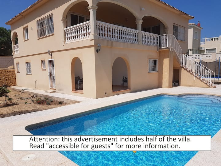 Nice house with private pool near Altea.